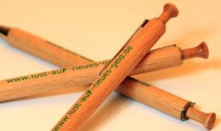Holzkugelschreiber